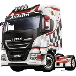Camion In Kit Da Costruire Italeri 3934 Iveco Hi-Wy E5 Abarth 1:24