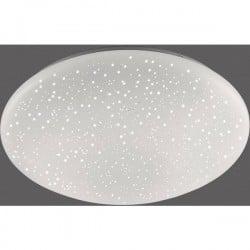 Leuchtendirekt Quart 14242-16 Plafoniera Led Bianco 24 W Rgb, Bianco Caldo Con Telecomando
