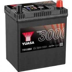 Batteria Per Auto Yuasa Smf Ybx3054 36 Ah T1/T3 Applicazione Celle 0