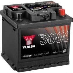Batteria Per Auto Yuasa Smf Ybx3012 50 Ah T1 Applicazione Celle 0
