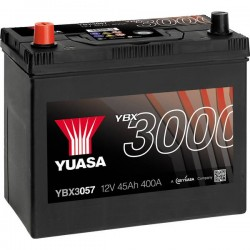 Batteria Per Auto Yuasa Smf Ybx3057 45 Ah T1/T3 Applicazione Celle 1