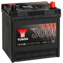 Batteria Per Auto Yuasa Smf Ybx3108 50 Ah T1 Applicazione Celle 0