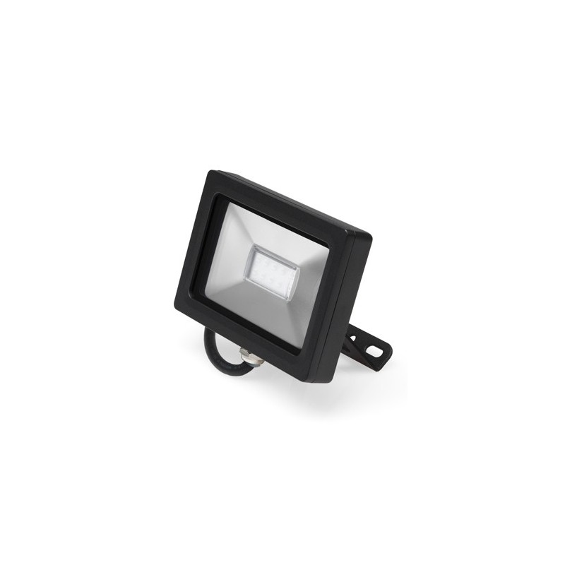 Faretto led nobile con staffa da parete o soffitto 10w 3000k luci led - Luci da parete led ...