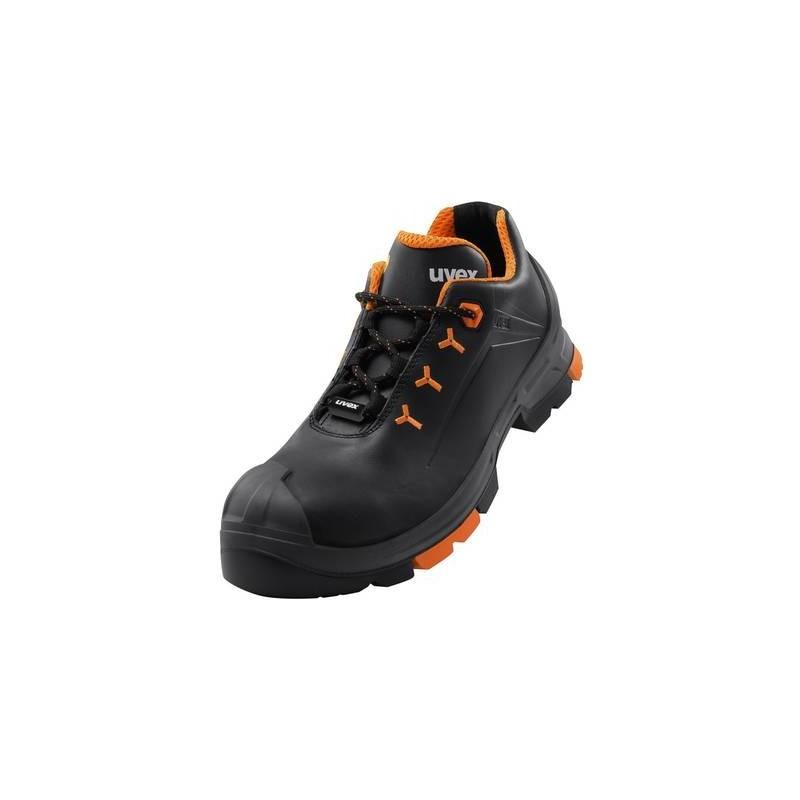 Scarpe di sicurezza S3 Misura: 43 Nero, Arancione Uvex 2 6502243 1 Paia