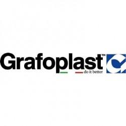 """Strip In Acciaio Inox Targa 6 X 9.8 X 0.3 Mm """"5"""" - 10 Pz Grafoplast Gratgt/05"""