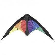 Aquilone acrobatico HQ Bebop prisma R2F Larghezza estensione 1450 mm Intensità forza del vento 2 - 5 bft