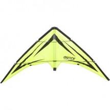 Aquilone acrobatico Ecoline Quick Emerald Larghezza estensione 1150 mm Intensità forza del vento 2 - 5 bft