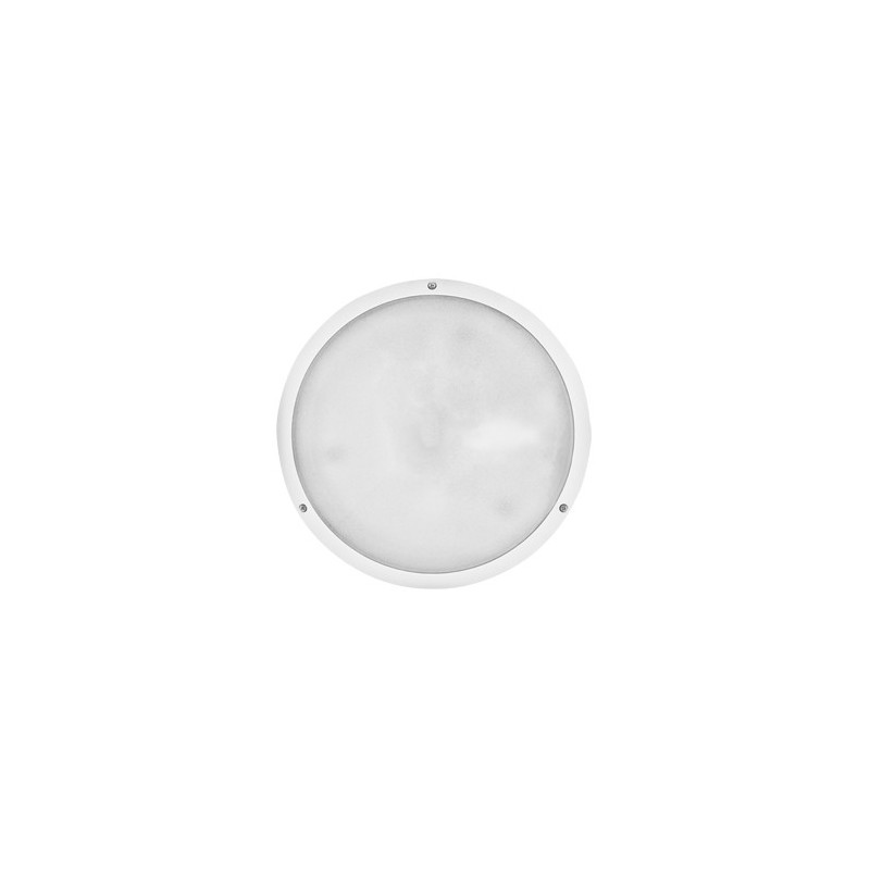 Plafoniera Iris Led da Parete o Soffitto 11,2W Luce Naturale 280x113mm Bianca Mareco 0752182M