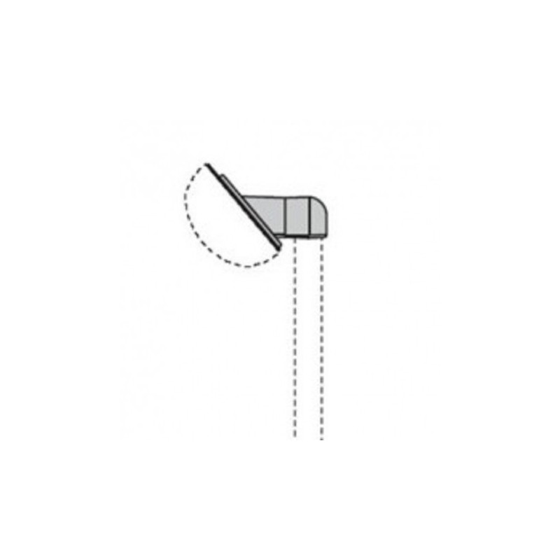 Mensola Chip per Palo di Diametro 60cm Prisma