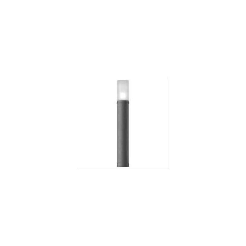 Palo per Illuminazione Esterna da Giardino Prisma Stilo Midi 72cm 60W E27 Antracite