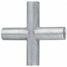 Connettore A Croce 4 Mm凖 Non Isolato Metallo Klauke Kv4 1 Pz.