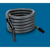 Tubo Flessibile per Aspirapolvere 32 mm Aertecnica AP220 7 Metri con Regolatore Pressione