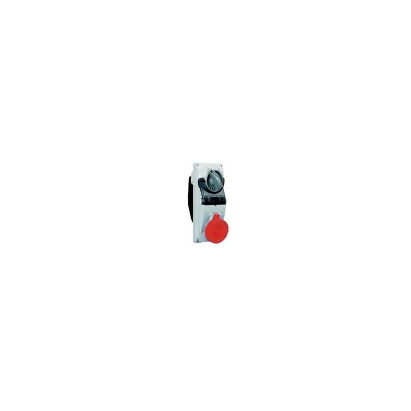 Presa da Parete Modulare Industriale Interbloccata 3+N+T IP66/IP67 400V 32A Palazzoli 490246