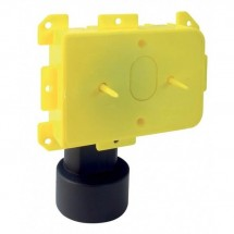 Contropresa da Incasso 50 mm Logik New Air Aertecnica PA012 Raccordo Curvo