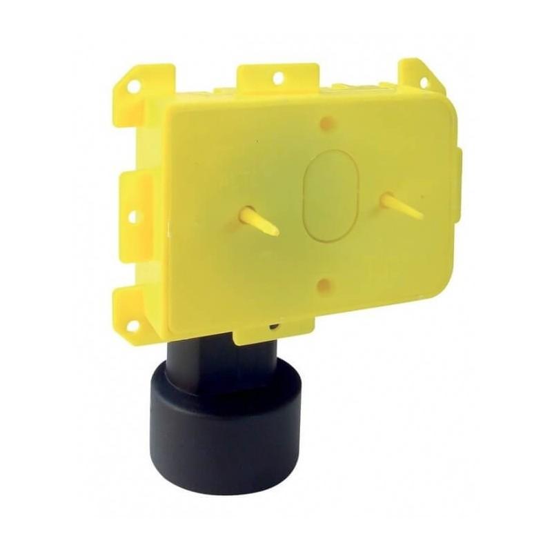 Contropresa da Incasso 50 mm Logik New Air Aertecnica PA012 Raccordo Curvo prezzo costo
