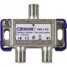 Distributore SAT Spaun VBE 2 PD 2 vie