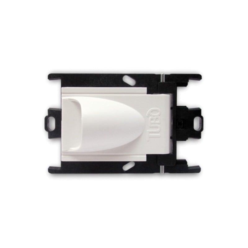 Bocchetta dell'Aria per Aspirazione Centralizzata Aertecnica NA620 Presa Bianca prezzi offerte
