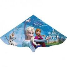 Aquilone statico Monofilo Günther Flugspiele Disney Frozen Elsa Larghezza estensione 1150 mm Intensità forza del vento 3