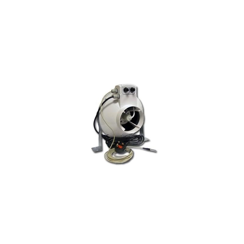 Vents Aspiratore Vk125Un Regolatore di Temperatura e Velocità Minima Cablato Ø125Mm - Max 355Mc/H