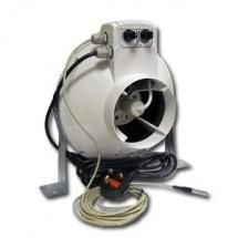 Vents Aspiratore Vk150Un con Regolatore di Temperatura e Velocità Minima Cablato Ø150Mm - Max 460Mc/H