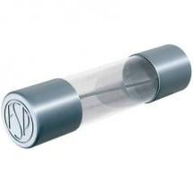 Püschel FSF0,5B Fusibile (Ø x L) 5 mm x 20 mm 0.5 A 250 V Rapido Contenuto 10 pz.