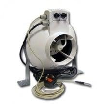 Vents Aspiratore Vk200Un con Regolatore di Temperatura e Velocità Minima Cablato Ø200Mm - Max 790Mc/H