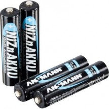 Ansmann HR03 Batteria ricaricabile Ministilo (AAA) NiZn 550 mAh 1.6 V 4 pz.