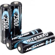 Ansmann NiZn AA Batteria ricaricabile Stilo (AA) NiZn 1500 mAh 1.6 V 4 pz.