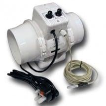 Vents Aspiratore TtUn 150Mm Cablato Termostato e Controllo Velocità 520Mc/H