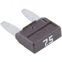 Mini fusibile piatto 7.5 A Marrone MTA 341.126 330.026 1 pz.