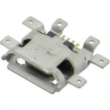 Presa micro USB da circuito stampato Presa orizzontale 207E-BA00-RA1 Micro USB SMD Attend Contenuto: 1 pz.