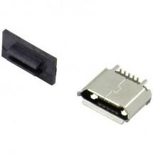 Presa da incasso micro USB tipo B Presa orizzontale 207F-BA00 Micro USB tipo B angolato Attend Contenuto: 1 pz.