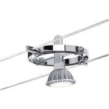 Paulmann Cardano Lampada per sistema su cavo Classe energetica: a seconda della lampada Universale GU5.3 10 W LED Cromo