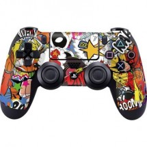 Cover Ps4 Epic Skin Stickerbomb Color