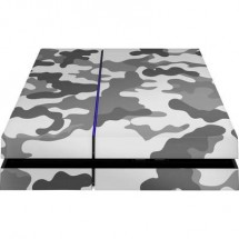Cover Ps4 Epic Skin Camouflage Grey