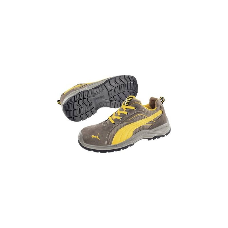 Scarpe di sicurezza S1P Misura: 40 Marrone, Giallo PUMA Safety Omni Brown Low SRC 643630 40 1 Paia