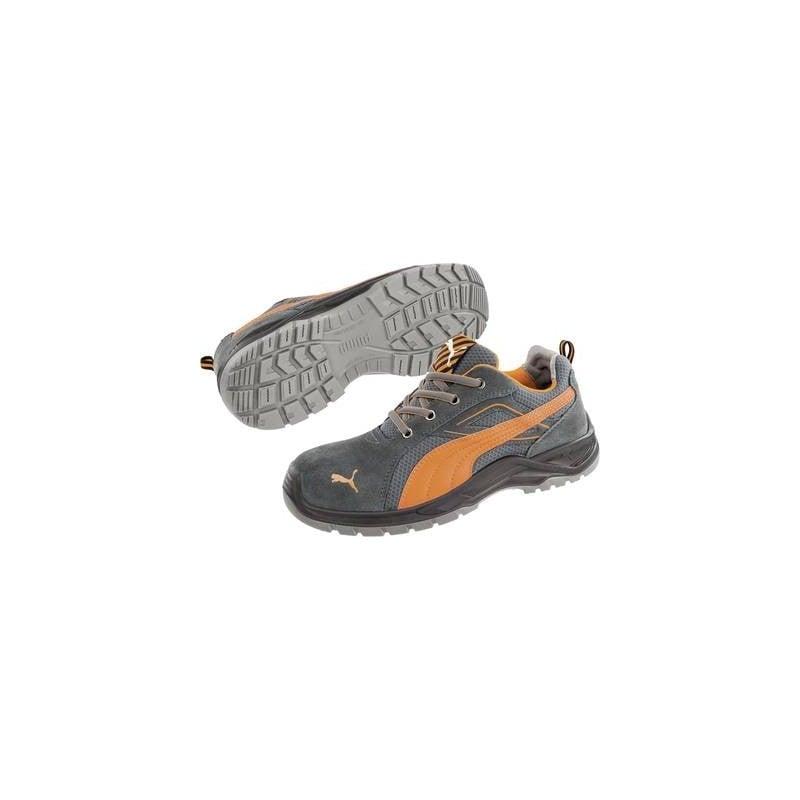 Scarpe di sicurezza S1P Misura: 40 Marrone, Giallo PUMA