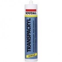 Soudal ACRYRUB Acrilico Colore Trasparente 9200 310 ml