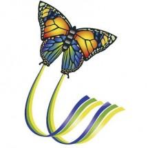 Aquilone statico Monofilo Günther Flugspiele Butterfly Larghezza estensione 950 mm Intensità forza del vento 4 - 6 bft