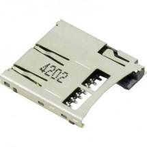 microSD Zoccolo schede A pressione, A pressione Attend 112A-TAAR-R03 1 pz.