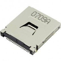 SD, MMC, MMCplus, xD, Memory Stick Zoccolo schede Attend 107R-CD00-R 1 pz.