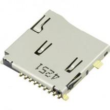 microSD Zoccolo schede A pressione, A pressione Attend 112J-TDAR-R01 1 pz.