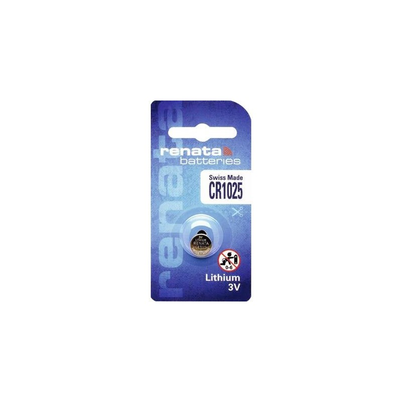 Renata CR1025 Batteria a bottone CR 1025 Litio 30 mAh 3 V 1 pz.
