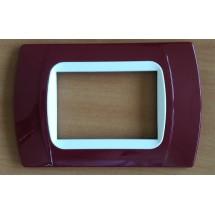 Placca amaranto compatibili serie Vimar eikon arkè e plana miglior prezzo vendita on line prezzi e offerte