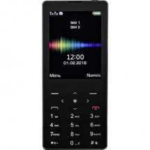 Cellulare dual SIM swisstone SC 590 Touch Nero