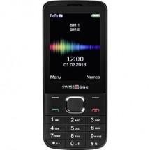 Cellulare Dual Sim Swisstone Sc 580 Nero