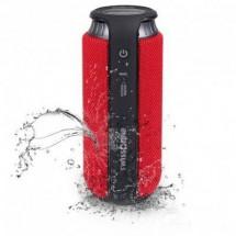 swisstone BX 500 Altoparlante Bluetooth Funzione vivavoce, Protetto dagli spruzzi dacqua Rosso/Nero