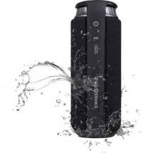 swisstone BX 500 Altoparlante Bluetooth Funzione vivavoce, Protetto dagli spruzzi dacqua Nero