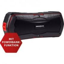 Swisstone Bx 310 Altoparlante Bluetooth Funzione Vivavoce Nero/Rosso