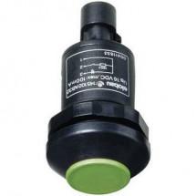 Elobau 145010AB-GN Pulsante 48 V DC/AC 0.5 A 1 x On / (Off) IP67 Momentaneo 1 pz.